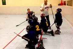 Learn to play inline hockey. Beginners welcome!